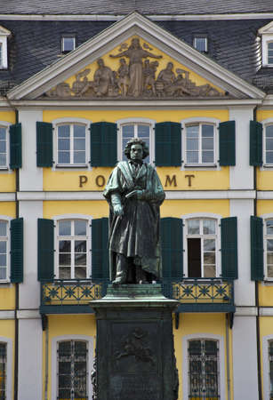 beethoven: Beethoven statue in Bonn, Germany