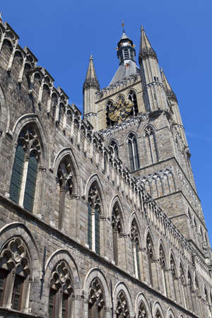 ypres: Cloth Hall in Ypres, Belgium