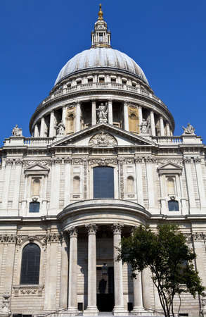 The magnificent St Pauls Cathedral in London photo