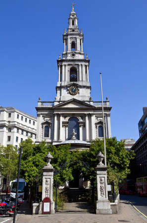 St. Mary le Strand church in London Stock Photo - 15169220