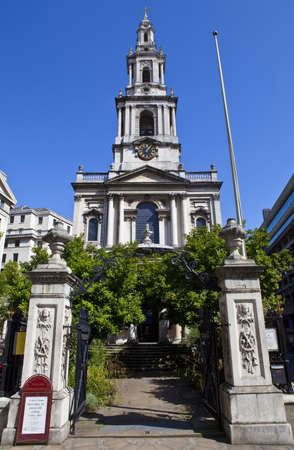St. Mary le Strand church in London Stock Photo - 15169221