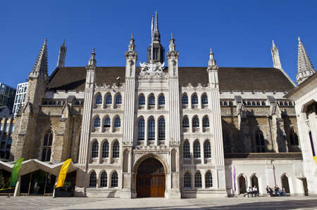 guildhall: The magnificent Guildhall in London