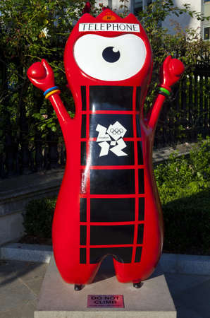 London 2012 Olympic Mascot Stock Photo - 15156796