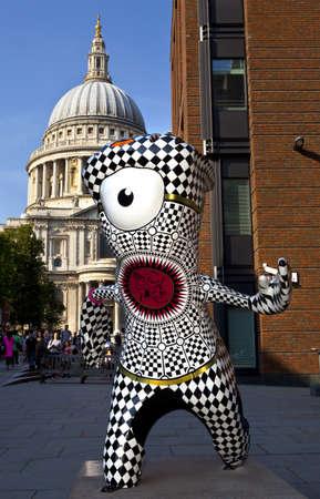 London 2012 Olympic Mascot Stock Photo - 15156803