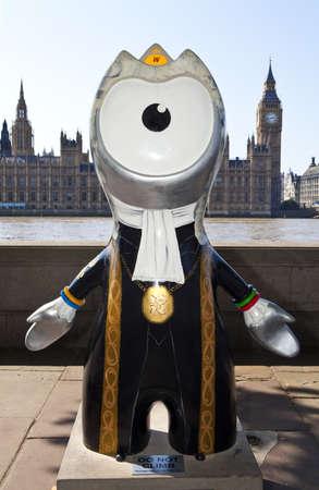 London 2012 Olympic Mascot Stock Photo - 15156794