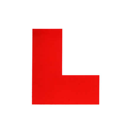 passed test: L Plate for a Learner Driver