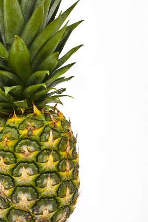 Pineapple on a white background. photo