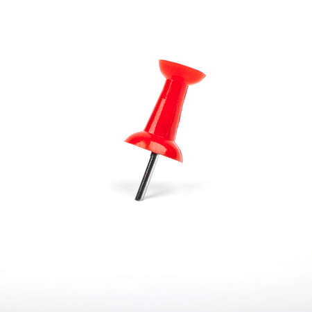 Red Map Pin on a white background. Stock Photo - 15722600