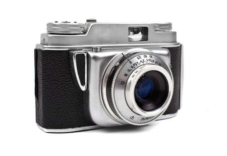 A vintage Camera on a white background. Stock Photo - 15722683