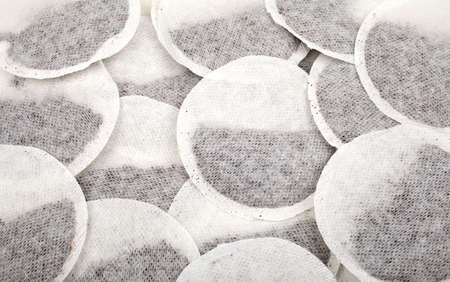 infusing: Close up of Tea Bags.
