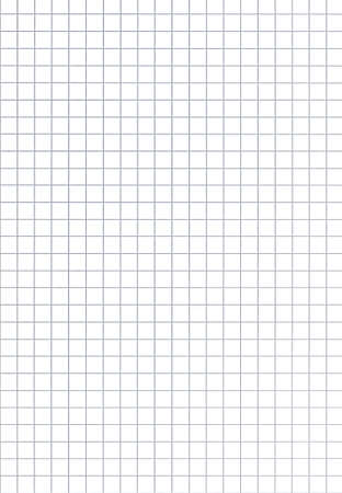 coursework: Sheet of squaredgraph paper.