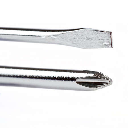 flathead: The Two Types of Screwdriver heads (Flat-head and Philips)