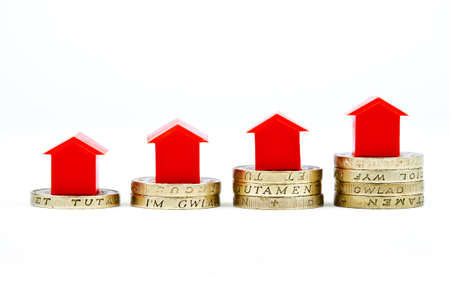 Saving Investment for a house or property Stock Photo - 16632718