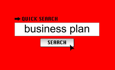 Searching for business plan on a search engine Stock Photo - 17271914