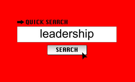 Searching for leadership on a search engine Stock Photo - 17271911
