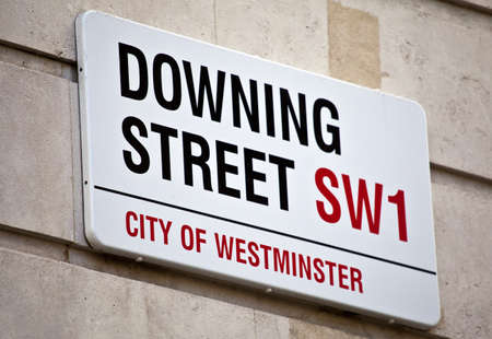 streets of london: Downing Street in London. Editorial