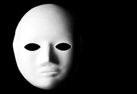 Mask over a black background. Stock Photo - 17675858