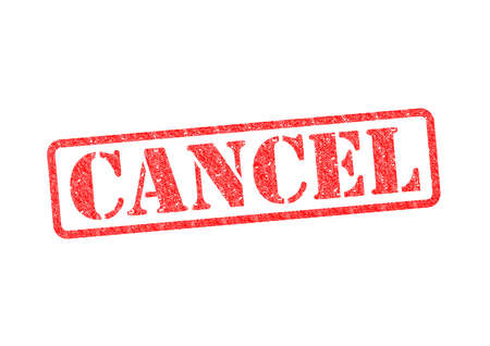 CANCEL red rubber stamp over a white background. Stock Photo - 17675882