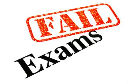 Failing your Exams. Stock Photo - 18022014