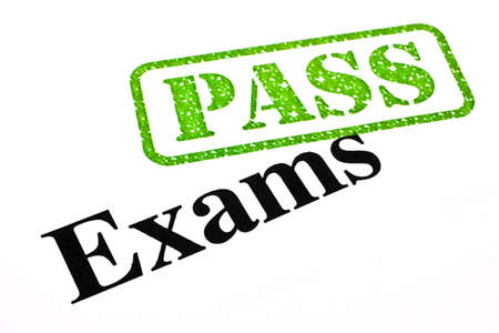 exam results: Successfully passing your exams.