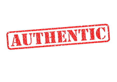 valid: AUTHENTIC red rubber stamp over a white background.