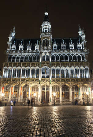 The Maison du Roi  Kings House  in Grand Place, Brussels