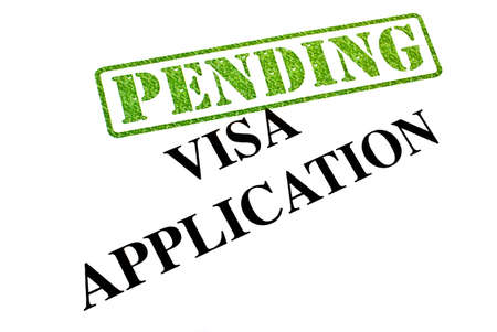 Visa Application is currently PENDING. Stock Photo - 19067053