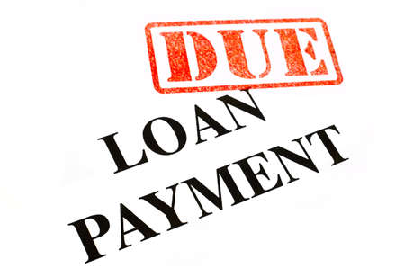 Loan Payment is DUE. photo