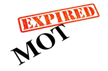 mot: Your MOT has EXPIRED.
