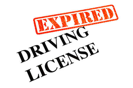 expired: Driving License has EXPIRED.