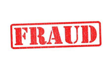 spuria: FRODE Rubber Stamp su uno sfondo bianco. Archivio Fotografico
