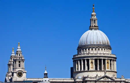 St Pauls Cathedral in London. photo