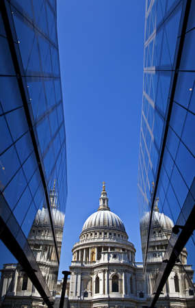 View of St Pauls Cathedral in London. Stock Photo - 19411922