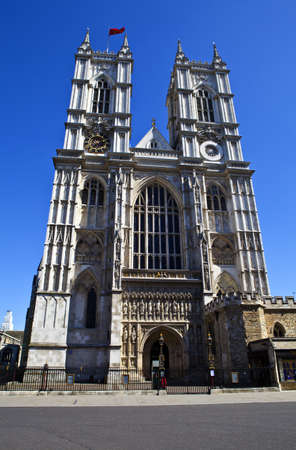 The beautiful Westminster Abbey in London  photo