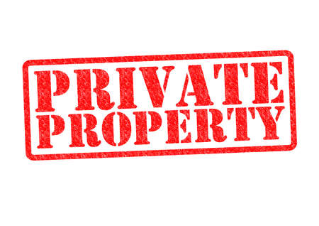 PRIVATE PROPERTY Rubber Stamp over a white background. Stock Photo - 19411858