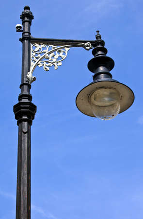 A vintage 18th Century London Lamp Post  photo