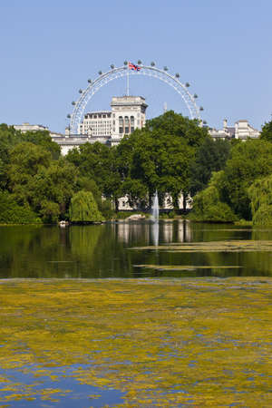 st james s: The beautiful view from St  James s Park