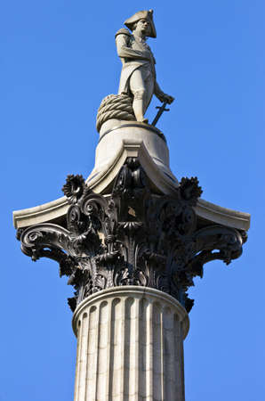 Nelsons Column in London photo
