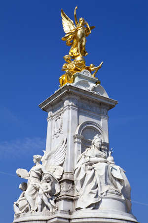 The Victoria Memorial in London