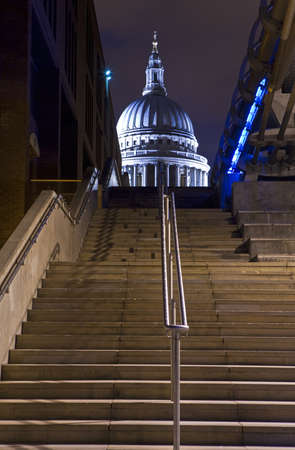 View of St  Pauls Cathedral photo