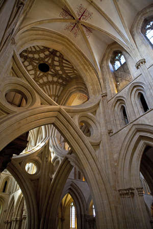 wells: The magnificent Wells Cathedral in Somerset
