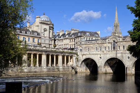 Pulteney Bridge and the River Avon in Bath   St Michael photo
