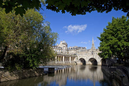 Pulteney Bridge and the River Avon in Bath  photo