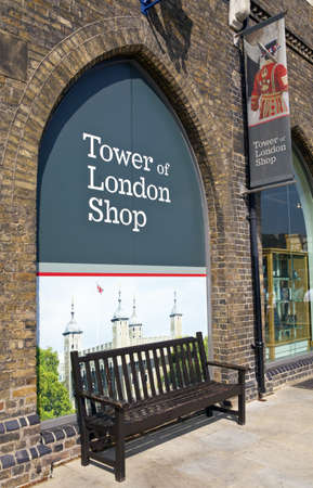 beefeater: The Tower of London shop in London on 5th September 2013