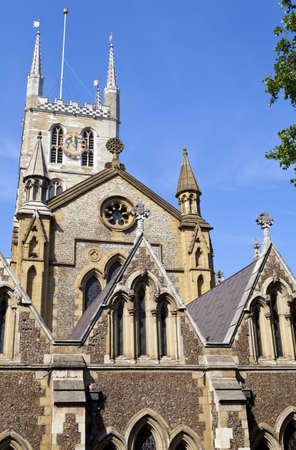 southwark: The historic Southwark Cathedral in London