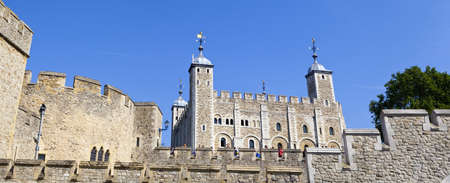 The Tower of London on a beautiful Summers Day photo