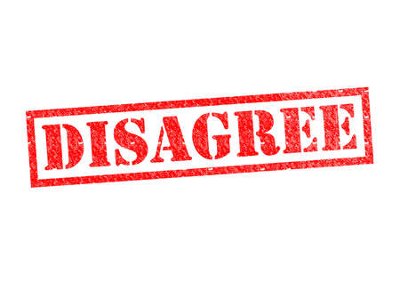 disagreed: DISAGREE Rubber Stamp over a white background.