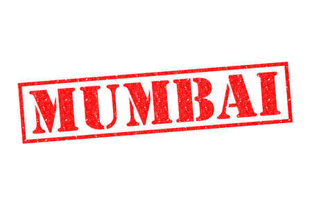 MUMBAI Rubber Stamp over a white background. photo