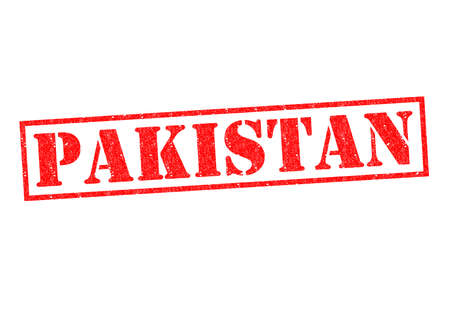 islamabad: PAKISTAN Rubber Stamp over a white background.