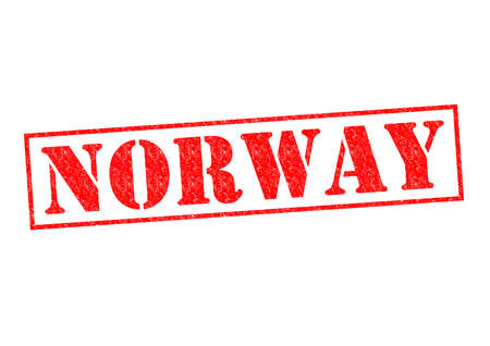 NORWAY Rubber Stamp over a white background. photo